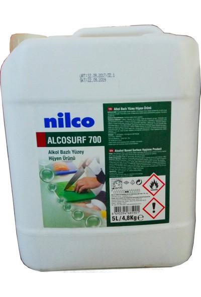 Nilco Alcosurf 700 Alkol Bazlı Yüzey Hijyen Ürünü 5 lt
