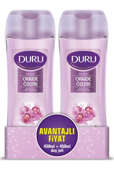 Duru Perfume Duş Jeli Orkide Özleri 450 ml & 450 ml