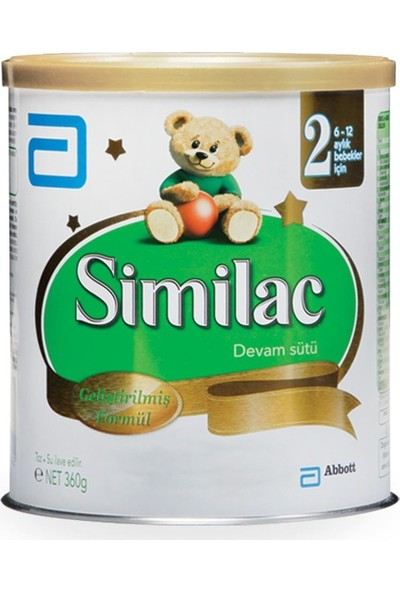 Similac 2 Bebek Devam Sütü 360 Gr