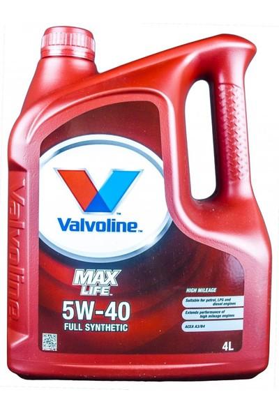 Valvoline Maxlife 5W40 4 Litre- Lpg, Benzin, Dizel