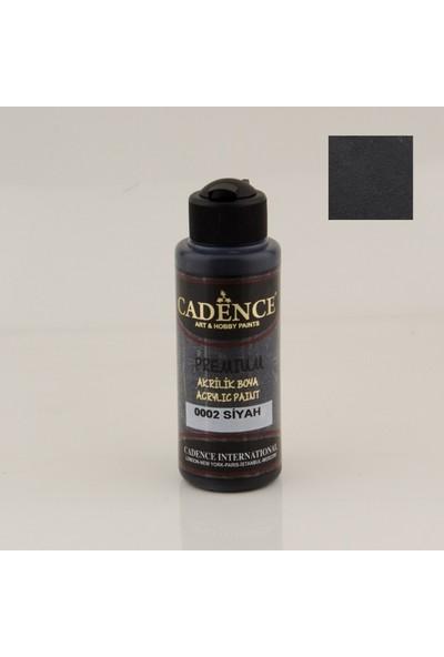 Cadence Premium Akrilik Boya 120 Ml Siyah