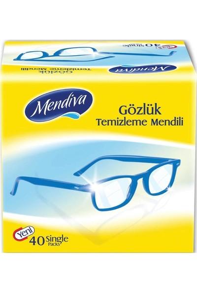 Mendiva Gözlük ve Cam Ekran Temizleme Mendili 40'lı
