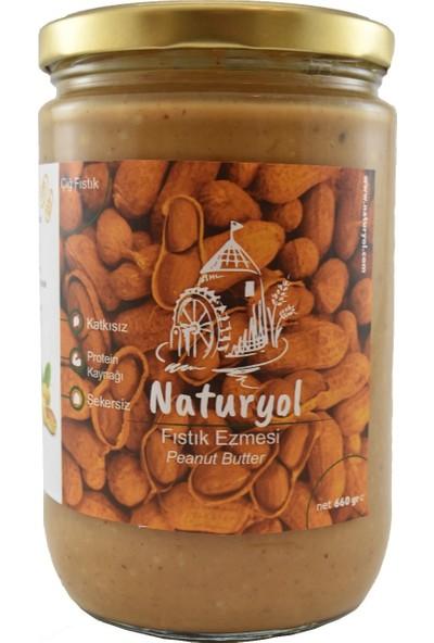 Naturyol Şekersiz Fıstık Ezmesi 600 gr