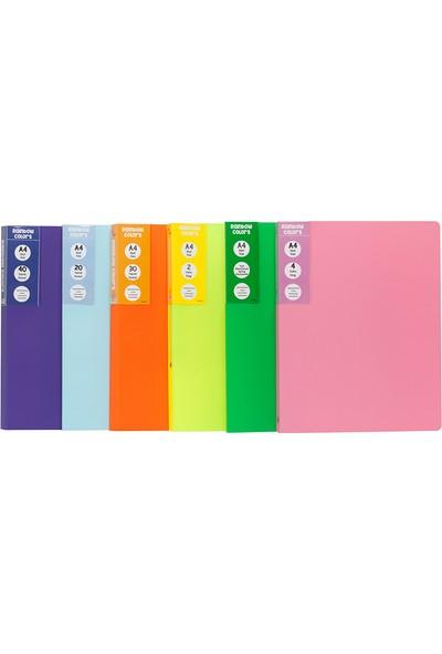 Önder Rainbow Colors 30 Sayfa Renkli Sunum Dosyası - Tüm Renkler