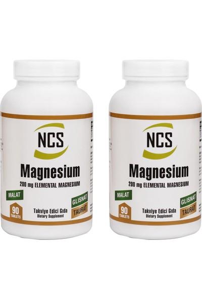 Ncs Magnesium Malat Glisinat Taurat 2 Kutu 180 Tablet