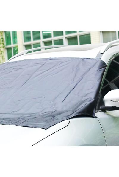 Autoen Citroen C4 Hb Ön Cam Brandası Güneşlik - Gri (2004-2010)