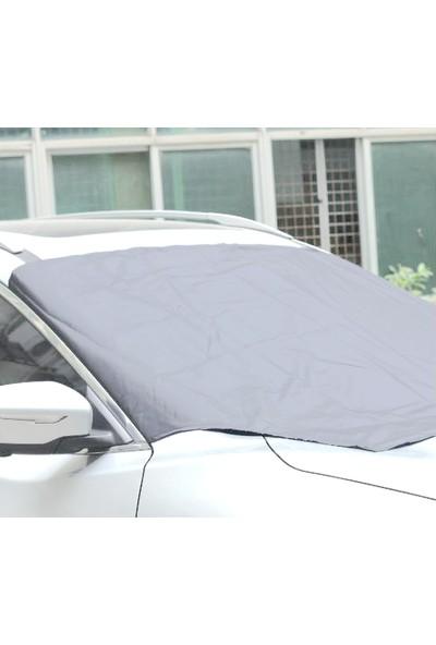 Autoen Fiat Linea Ön Cam Brandası Güneşlik - Gri