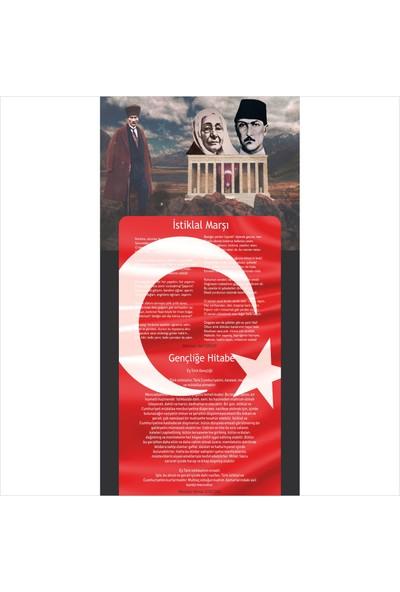 Okulposteri Atatürk Köşesi̇ Posteri̇ 3 200 x 100 cm