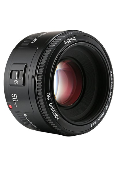 Yongnuo 50mm F1.8 Canon Uyumlu Otofokus Lens