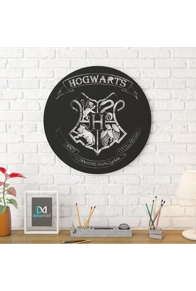Dekomotif Hogwarts Metal Tablo Ev/ofis Dekorasyonu