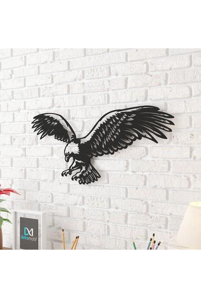 Dekomotif Kartal Metal Tablo Ev/ofis Dekorasyonu