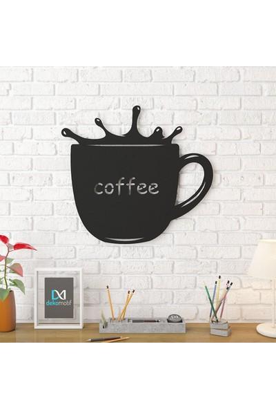Dekomotif Coffe Metal Tablo Ev/ofis Dekorasyonu