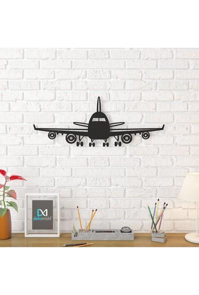 Dekomotif Uçak Metal Tablo Ev/ofis Dekorasyonu