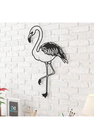 Dekomotif Flamingo Metal Tablo Ev/ofis Dekorasyonu