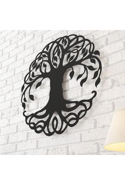 Dekomotif Tree Metal Tablo Ev/ofis Dekorasyonu