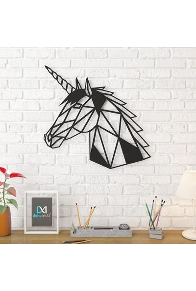 Dekomotif Unicorn Metal Tablo Ev/ofis Dekorasyonu
