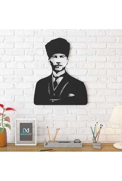 Dekomotif Kemal Atatürk Metal Tablo Ev/ofis Dekorasyonu