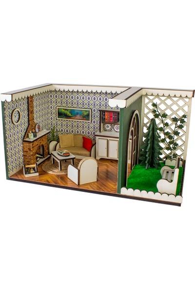 Hande's House Gece Lambası Salon