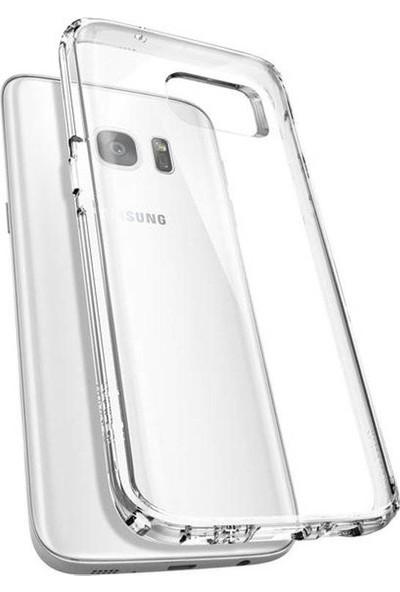 Notebookuzman Samsung Galaxy S7 Edge Ultra Ince Şeffaf Silikon Kılıf