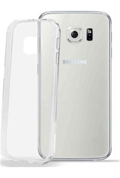 Notebookuzman Samsung Galaxy S6 Edge Ultra İnce Şeffaf Silikon Kılıf