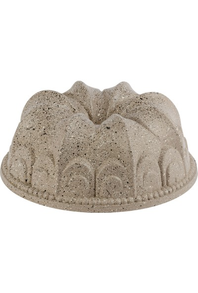 Thermoad Alüminyum Döküm Granit Kek Kalıbı Papatya / Vizon