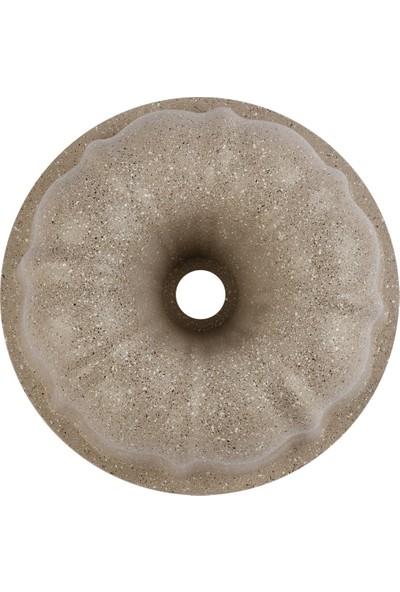 Thermoad Alüminyum Döküm Granit Kek Kalıbı Klasik / Vizon