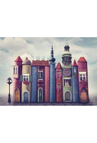 Nova Puzzle Puzzle Sihirli Kitap Evler - 1500 Parça Puzzle