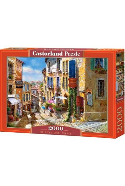 Castorland 2000 Parça Puzzle - Saint Emilion Fransa