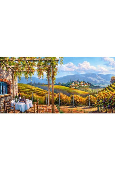Castorland 4000 Parça Üzüm Bağı Puzzle - 400249