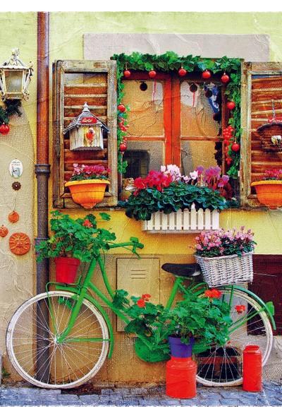 Gold Puzzle Gold Puzzle 500 Parça Yeşil Bisiklet