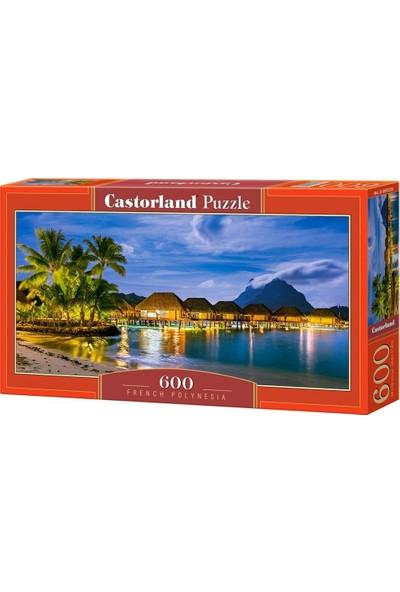 Castorland 600 Parça Fransız Polinezyası Puzzle