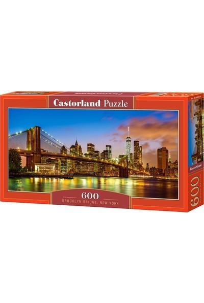 Castorland 600 Parça New York Brooklyn Köprüsü Puzzle - Panorama