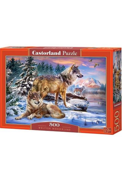 Castorland Kurtların Dünyası 500 Parça Puzzle