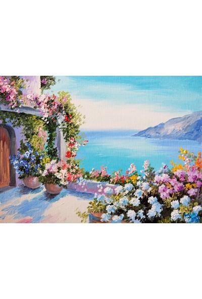Nova Puzzle Deniz Kenarındaki Ev Puzzle - 1000 Parça - 41071