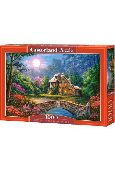Castorland 1000 Parça Puzzle Cottage İn The Moon Garden