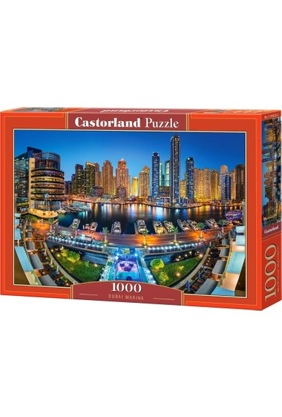 Castorland 1000 Parça Puzzle - Dubai Marina