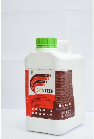 Agroege Bosteer 4-15-0 %5 Bor %5 Çinko Amino Asit + Deniz Yosunu