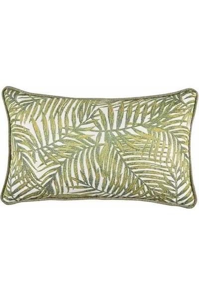 Buka Sofa Home Majorelle Palm Dekoratif Kırlent