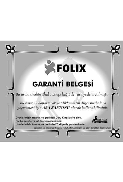 Folix Sipariş Fişi 14x20 2-50 2 Nüsha 50 yp. Otokopili 6 ADET