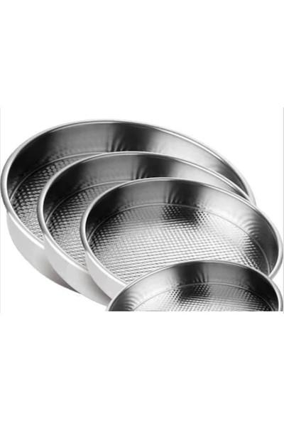 Özel Çiğ Köfte Tepsisi Paslanmaz Çelik Metal 5 Boy