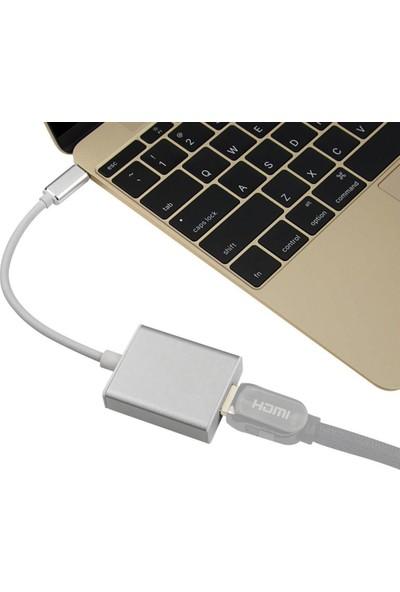 Appa Type-C To HDMI Çevi̇ri̇ci̇ Dönüştürücü Kablo SRF-760