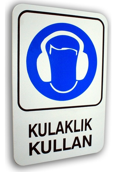 PassPano Pvc Foam Levha KULAKLIK KULLAN 16 x 24 cm