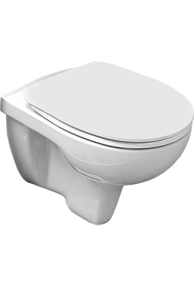 Ideal Standard Archi̇sol Asma Klozet ve Ri̇mless Klozet Kapaği Normal