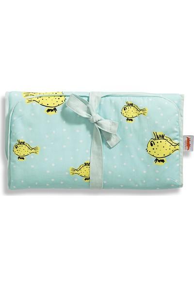 Crocodily Alt Değiştirme Minderi -Yellow Box Fish