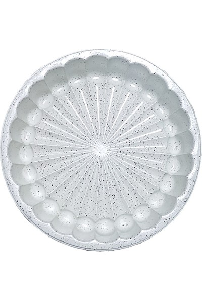 Aksu Döküm Kek Kalıbı Nida 1599-6562 Krem Aksu Tart Kalıbı 150 Derecede 2,5 mm Kalınlığında