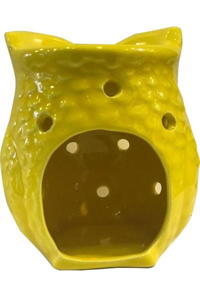 İpek Naturel Baykuş Buhurdanlık Sarı (Oil Bunner Gift Set) ve Esterya Plus Lavanta Sabunu