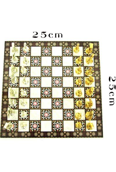 Satranç Seti Zamak 25 cm