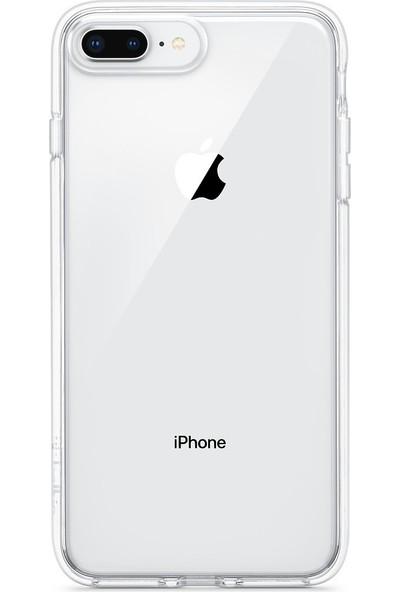 Key Apple iPhone 7/8 Plus Soft Case Silikon Şeffaf
