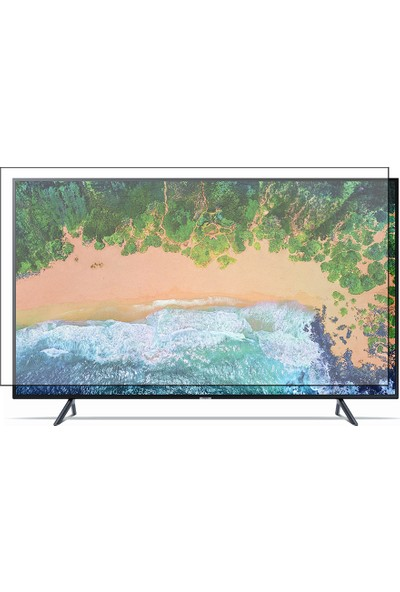 Nunamax Samsung 49Nu7100 Uyumlu Tv Ekran Koruyucu