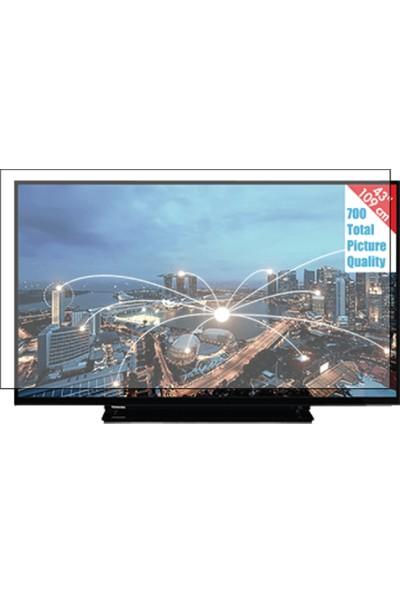 Nunamax Toshiba 43L2863Dat Uyumlu Tv Ekran Koruyucu